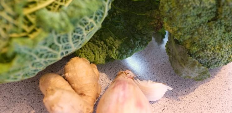 Wirz Broccoli Ingwer Knoblauch Schalotte