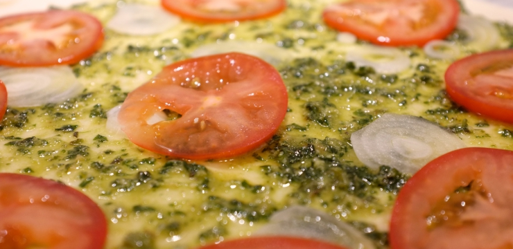 Tomaten Blätterteig
