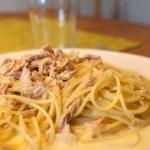 Spaghetti mit Thon