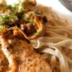 Pouletfilets mit Honig-Pilz Sauce