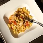 Fisch-Tomaten Pasta