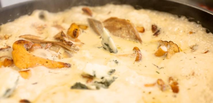Sauce mit Roquefort